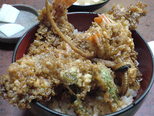 千束いせやの海老穴子天丼