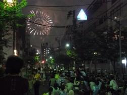 隅田川花火大会(一葉桜・小松橋通り)