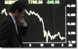 日本株離れ