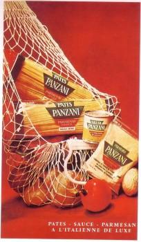 パンザーニの広告