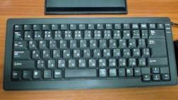 ELECOM パンタグラフ式USB&PS/2キーボード 日本語87キーミドルキーボード ブラック TK-UP87MPBK