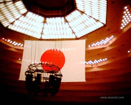 武道館の日の丸