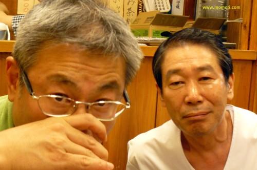 江弘毅と居酒屋浩司のマスター