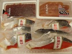 紅鮭と魚卵の詰め合わせ