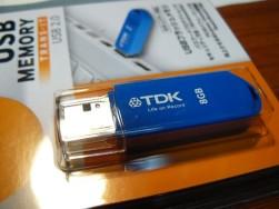 TDK USBメモリ セキュリティ対応
