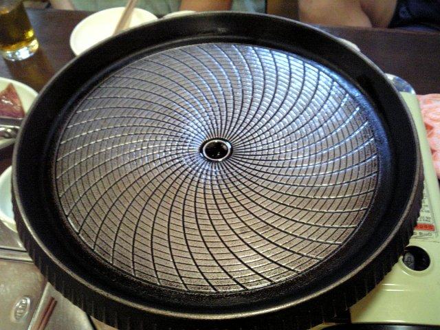カルビ用鍋