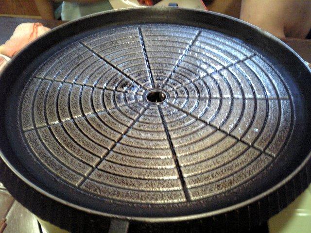 サムギョプサル用鍋
