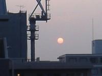 浅草3丁目の夕日
