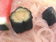 冷麺の胡瓜の甘酢漬け(盛楼閣)