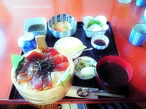 てこね寿司のお膳