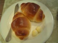 パンで食べる