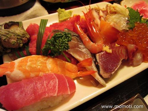 海鮮丼、具大盛り