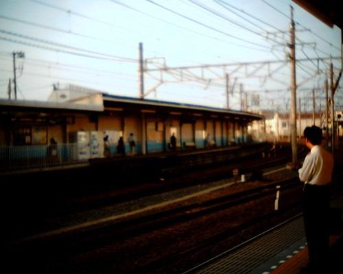 鐘ヶ淵駅(2009年9月1日撮影)