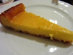 ベイクドチーズケーキレモン