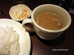 豚汁スープ