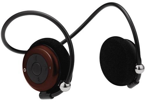 グリーンハウス Bluetoothネックバンド型ステレオヘッドセット ブラウン GH-BHHSNBR