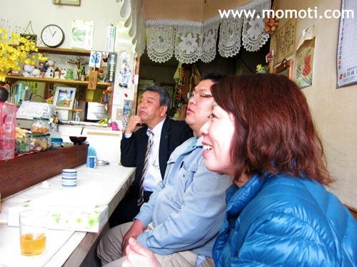馬渕さん、浅井君、真美さん