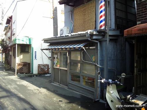小沢理容室(外側)