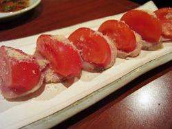 自家製鶏ハムとフルーツトマト