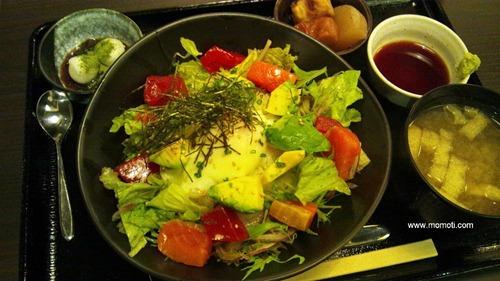鈴芳のアボガド海鮮丼
