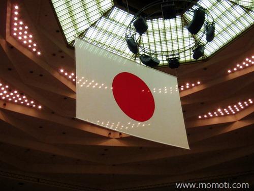 日本武道館の日の丸