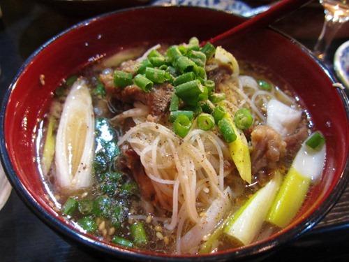 テール&スジ肉のスープ