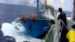 「ユーチューブ」に流れた尖閣諸島沖での中国漁船衝突事件のビデオとみられる映像
