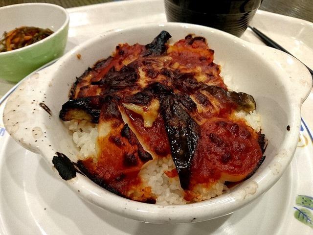 バリューセット・茄子とポテトのミートドリア