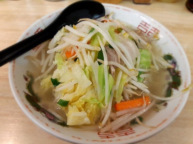 タンメン(麺半分)
