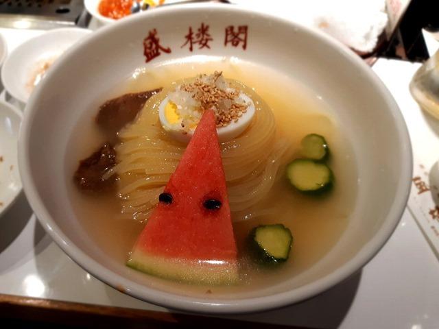 盛楼閣の冷麺普通盛