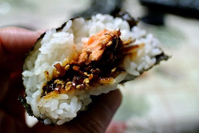 鮭とこんぶ