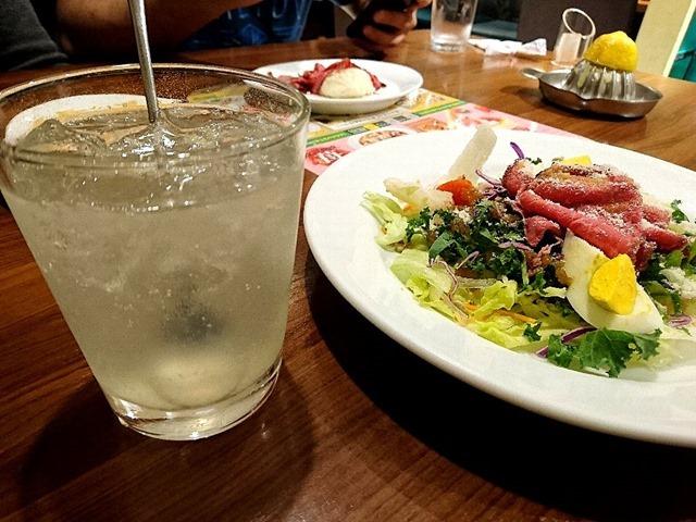 レモンハイ&ローストビーフとケールの24品目彩りサラダ