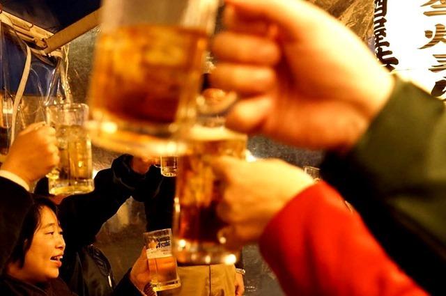 乾杯(撮影:村上さん)