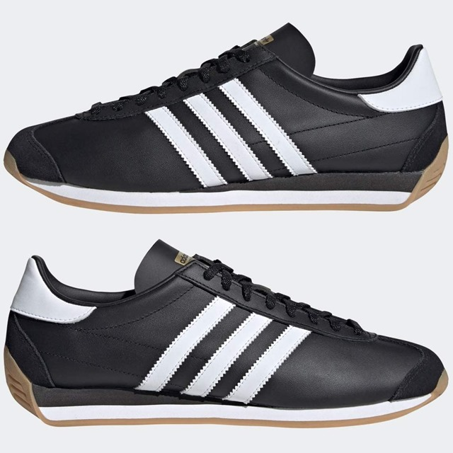 adidas_カントリーOG_コアブラック/フットウェアホワイト/ガム