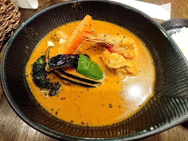 椰子の実チキンカレー~オリジナルスープ仕立て~