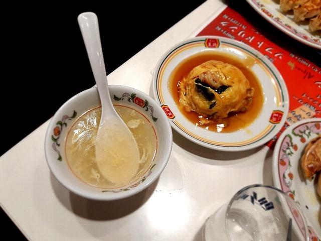 カニ玉とたまごスープ