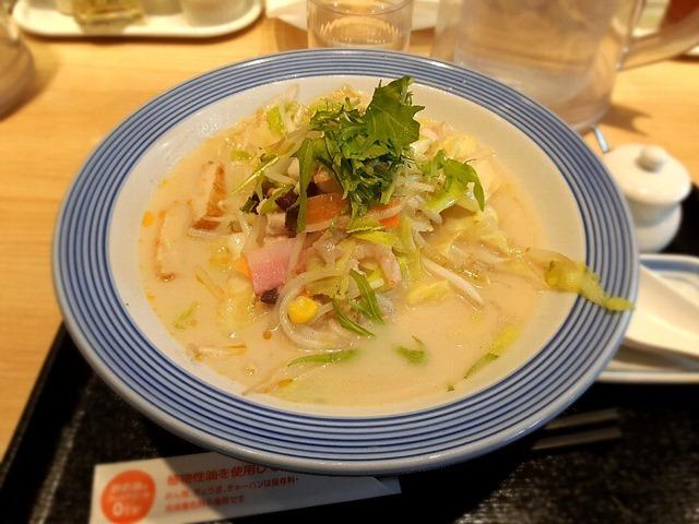 長崎ちゃんぽん(低糖質麺に変更)
