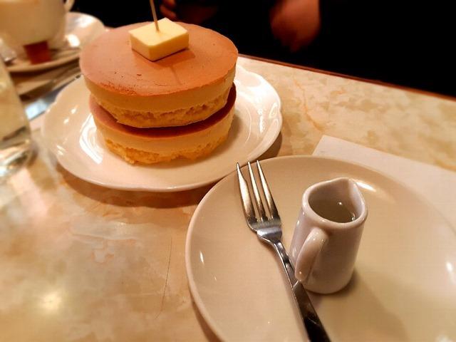 ホットケーキと氷糖蜜