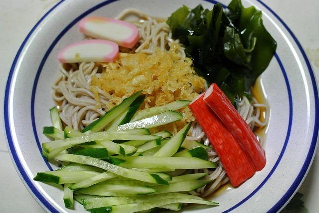 「健美麺」食後の血糖値上昇を抑えるそば