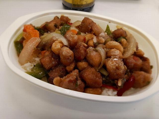 東京は大変なところだと思う、「鶏肉のカシューナッツ炒め(ガイパッメッマムアン)」でランチ。(タイ屋台メシ モンティ13:墨田区吾妻橋1丁目)