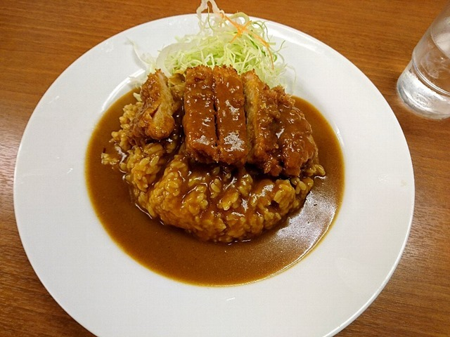 カツカレー(ライス小)