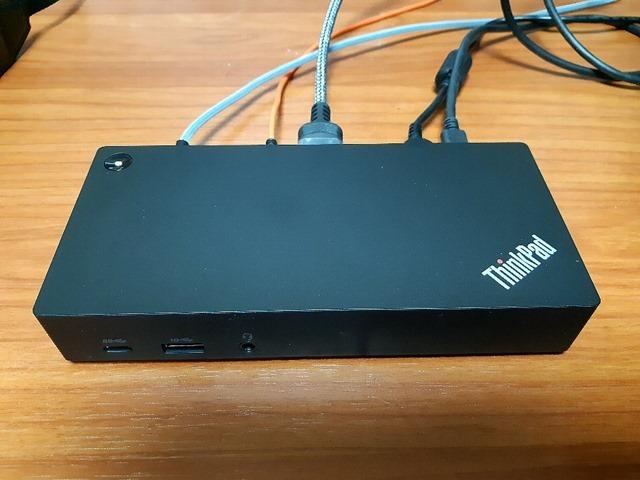 レノボ・ジャパン_40AS0090JP_ThinkPad_USB Type-C_ドック2