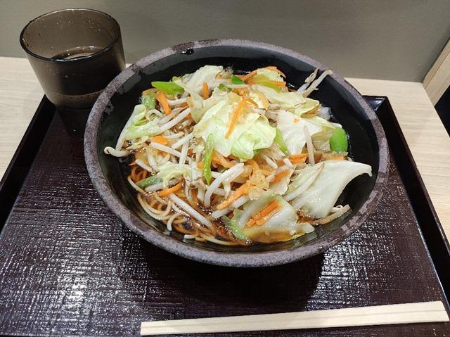 野菜たっぷりそば(かけ)