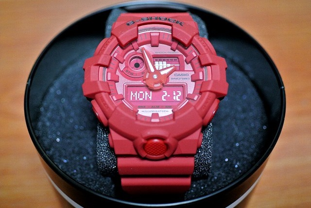 G-SHOCK 誕生35周年記念モデル『RED OUT』GA-735C-4AJR