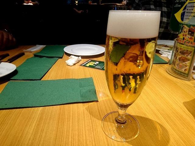 ビールは飲み放題にはしなかった