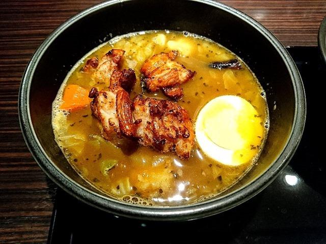 ローストチキン スープカレー