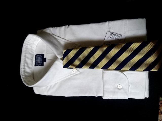 J.PRESS 【ORIGINALS】 アービングB.Dシャツとブルックス・ブラザーズガードストライプレップタイ