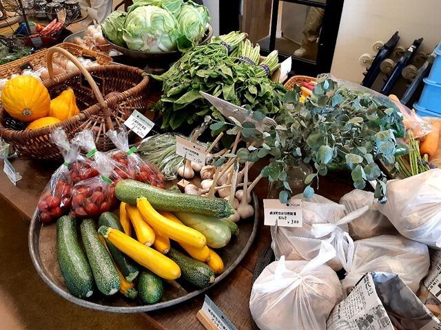 マニュファクチャの野菜