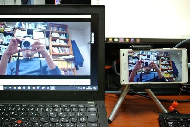 ThinkPad_X250とXperia_Z5_Compact_SO-02H