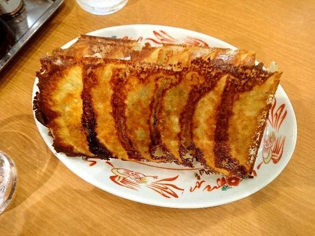 「青源 パセオ店」で「ネギ味噌焼餃子」、「源ちゃん焼餃子 ...
